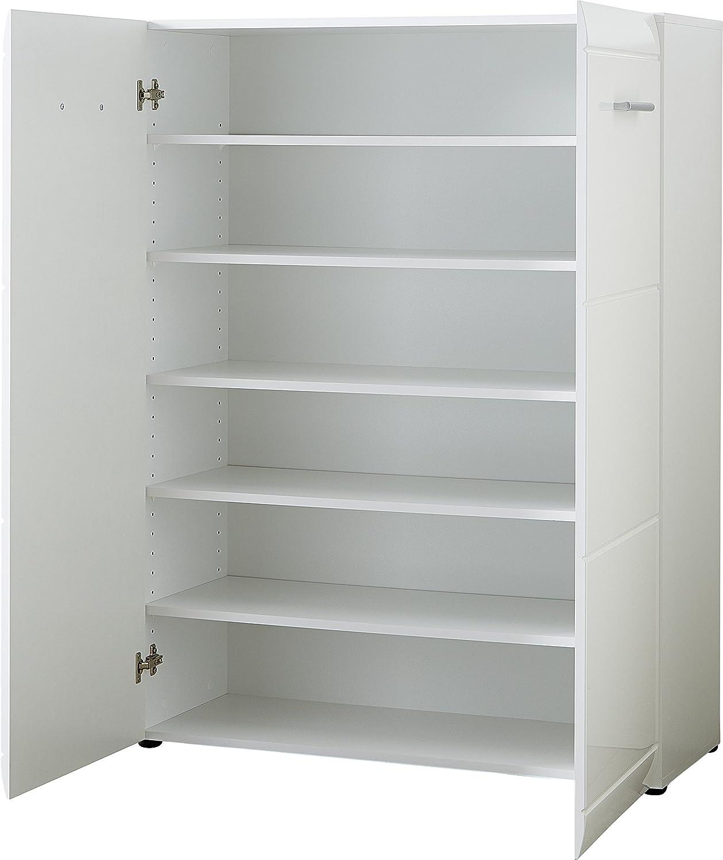 Germania Meuble Chaussures 3524 84 Gw Adana Coloris Blanc Avec  # Meuble Chaussures Gain De Place