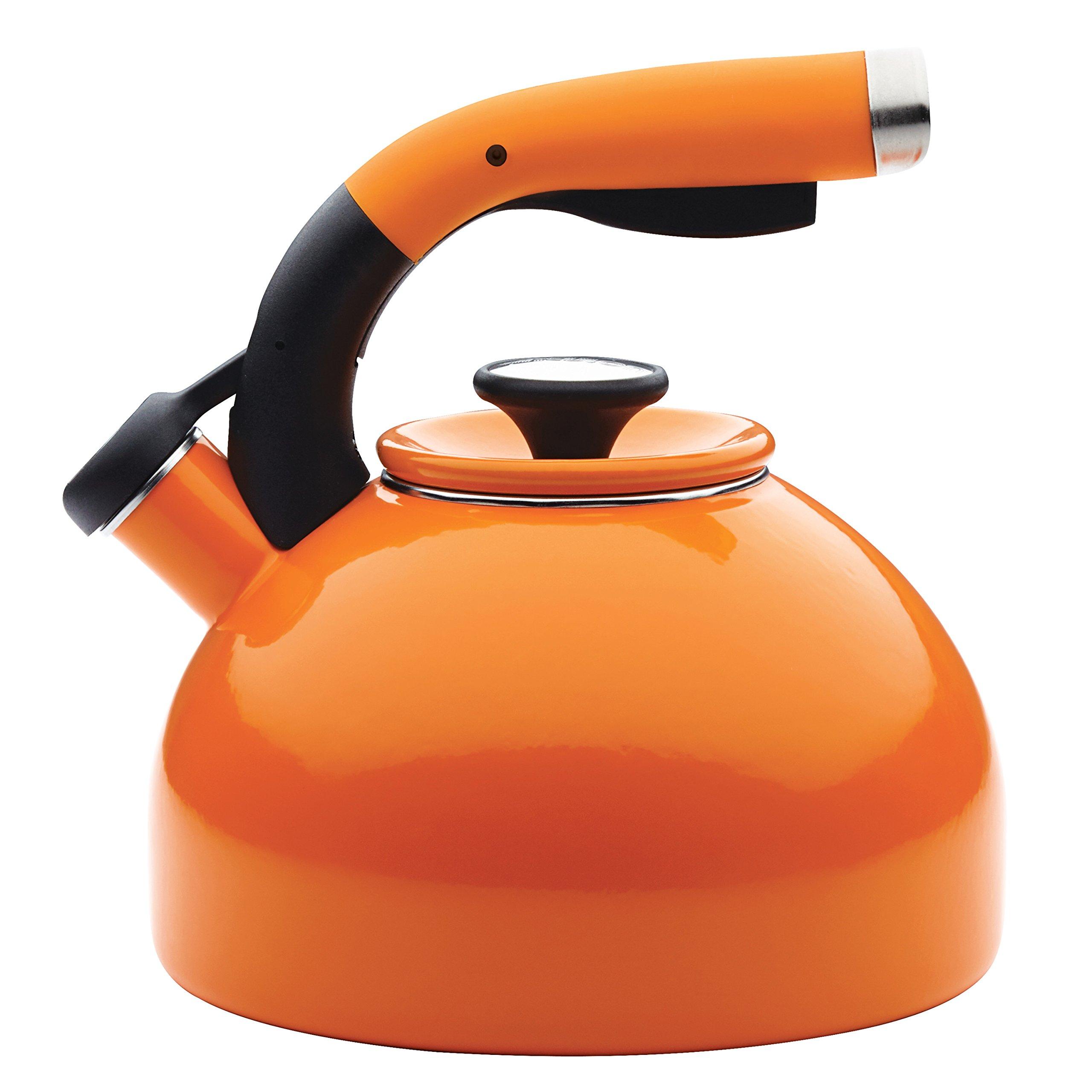 Circulon 46840 Teakettles, 2 quart, Orange by Circulon
