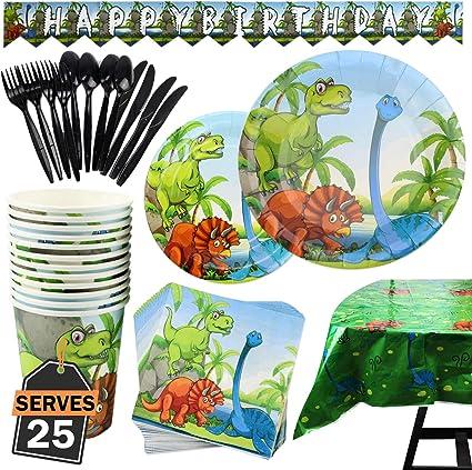 Amazon.com: Juego de accesorios de fiesta de 177 piezas con ...