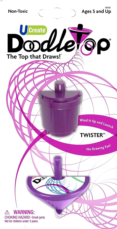 U-Create Doodletop Wind up Twister Activity