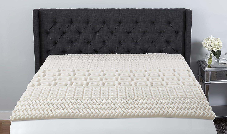 dp foam topper comfort home beautyrest com kitchen full contour zone memory amazon mattress