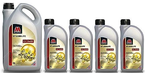 Millers Oil XF Longlife 0w30 C3 SN Aceite de Motor Totalmente sintético, LL04, dexos