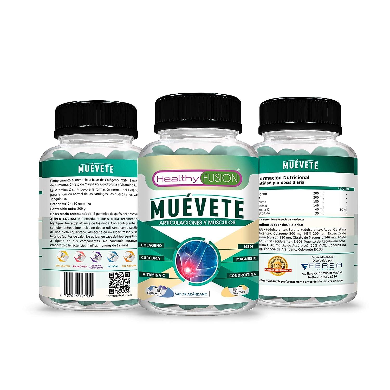 Potente Antiinflamatorio con Acción Analgésica – Reduce y Elimina Dolores – Regenerador Articular – Potente Cúrcuma + Colágeno + Magnesio + ...
