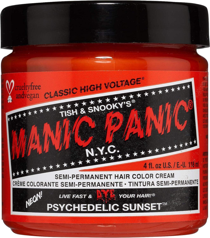 Manic Panic - Psychedelic Sunset Classic Creme Vegan Cruelty Free Semi-Permanent Hair Colour 118ml