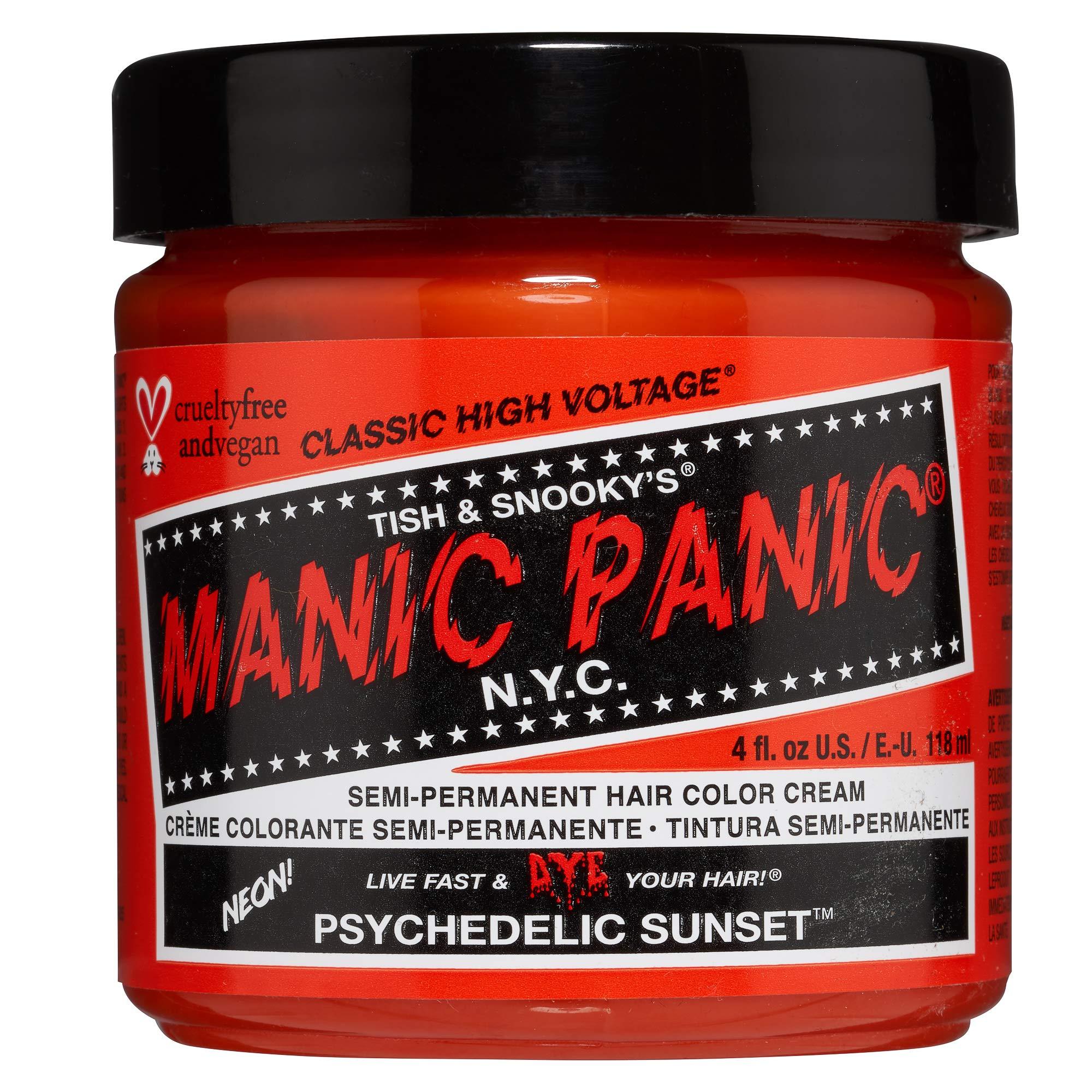 Manic Panic Psychedelic Sunset Orange Hair Dye