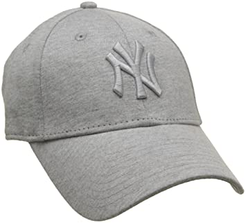 24175d3e52b New Era Wmn Jersey Essential New York Yankees Gray Gray Women 9FORTY ...