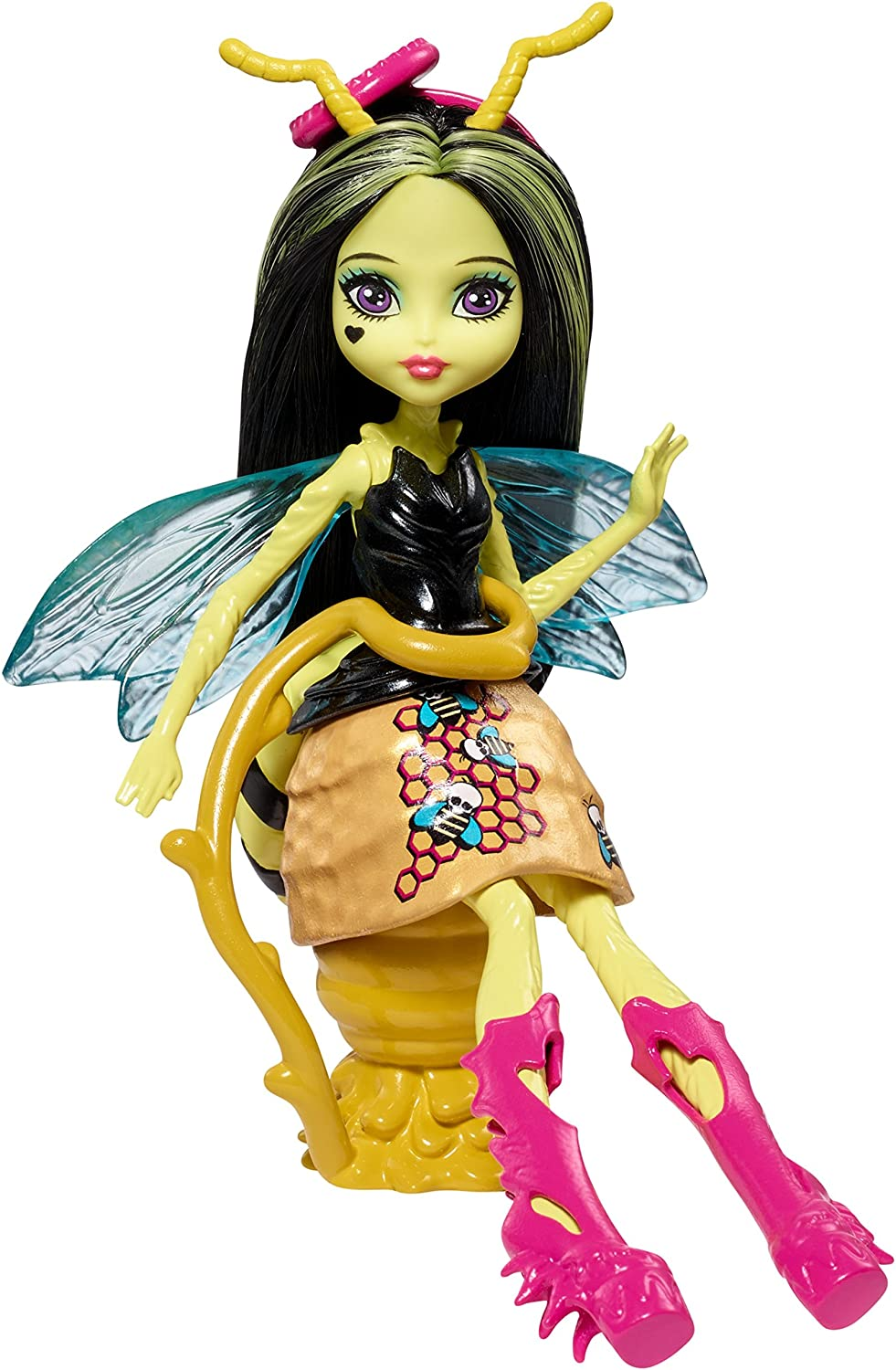 MONSTER HIGH GARDEN GHOULS WINGED CRITTERS BEETRICE DOLL
