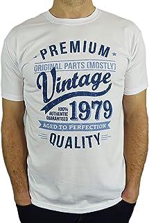 1979 Vintage Year - Aged To Perfection - Regalo di Compleanno Per 40 Anni Maglietta da Uomo