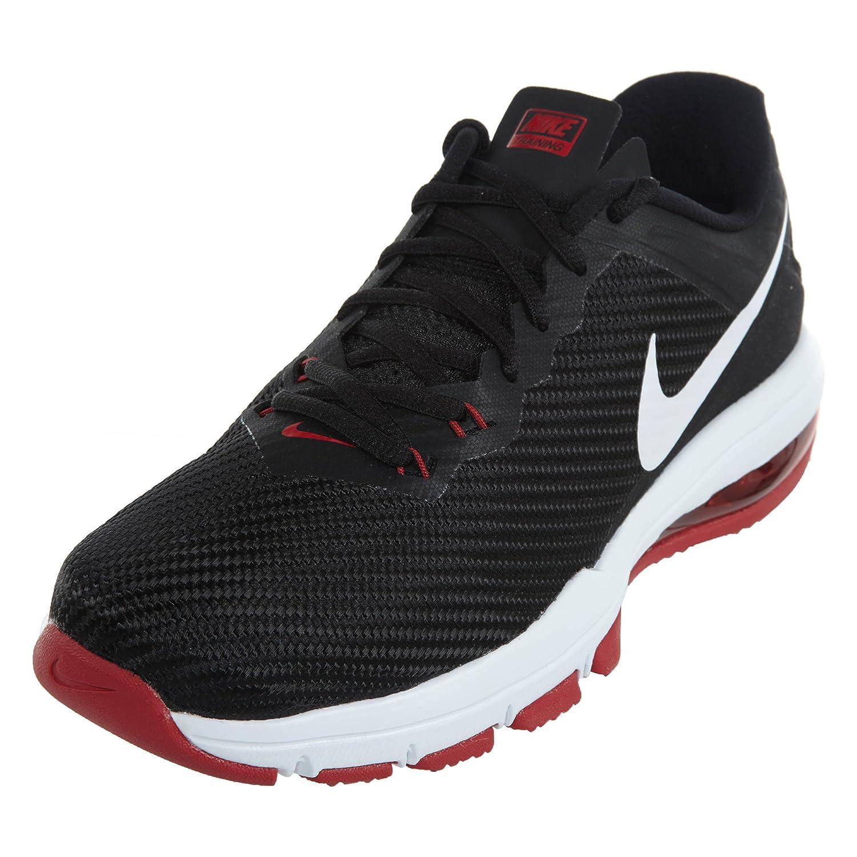 Conceptos Nike Hombre Air Max Full Ride TR 15 Training Zapatos Negro/Blanco/Tough Rojo 746MI