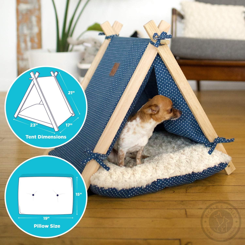 rosa Malloom/® peque/ño ajustable mascota perro cachorro gato cuello bufanda pa/ñuelo collar