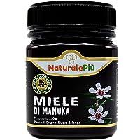 Miel de Manuka 500+ MGO 250g. Producida en Nueva Zelanda, activa y cruda, 100% pura y natural. Metilglioxial probado por laboratorios acreditados. NATURALEPIÙ