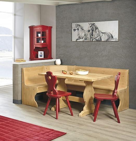 Tavoli E Sedie Rustiche.Arredamenti Rustici Sala Rustica In Legno Massello Panca Tavolo 2