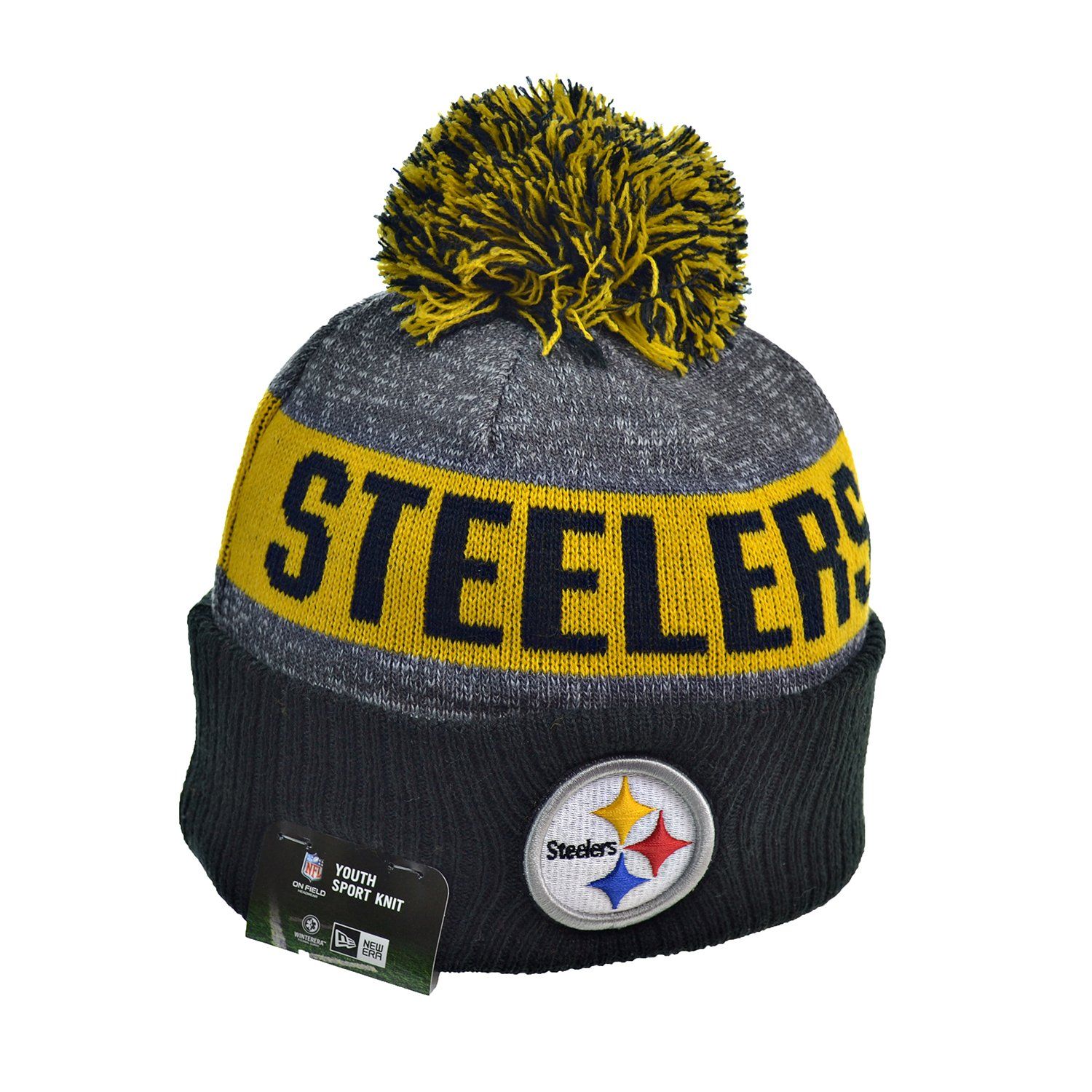 ... Football Beanie Hats 2016 New Era Official Sideline On Field Junior  Sport Knit Cap Team Color Unisex For Boys   Girls (One Size e51542a1ec3