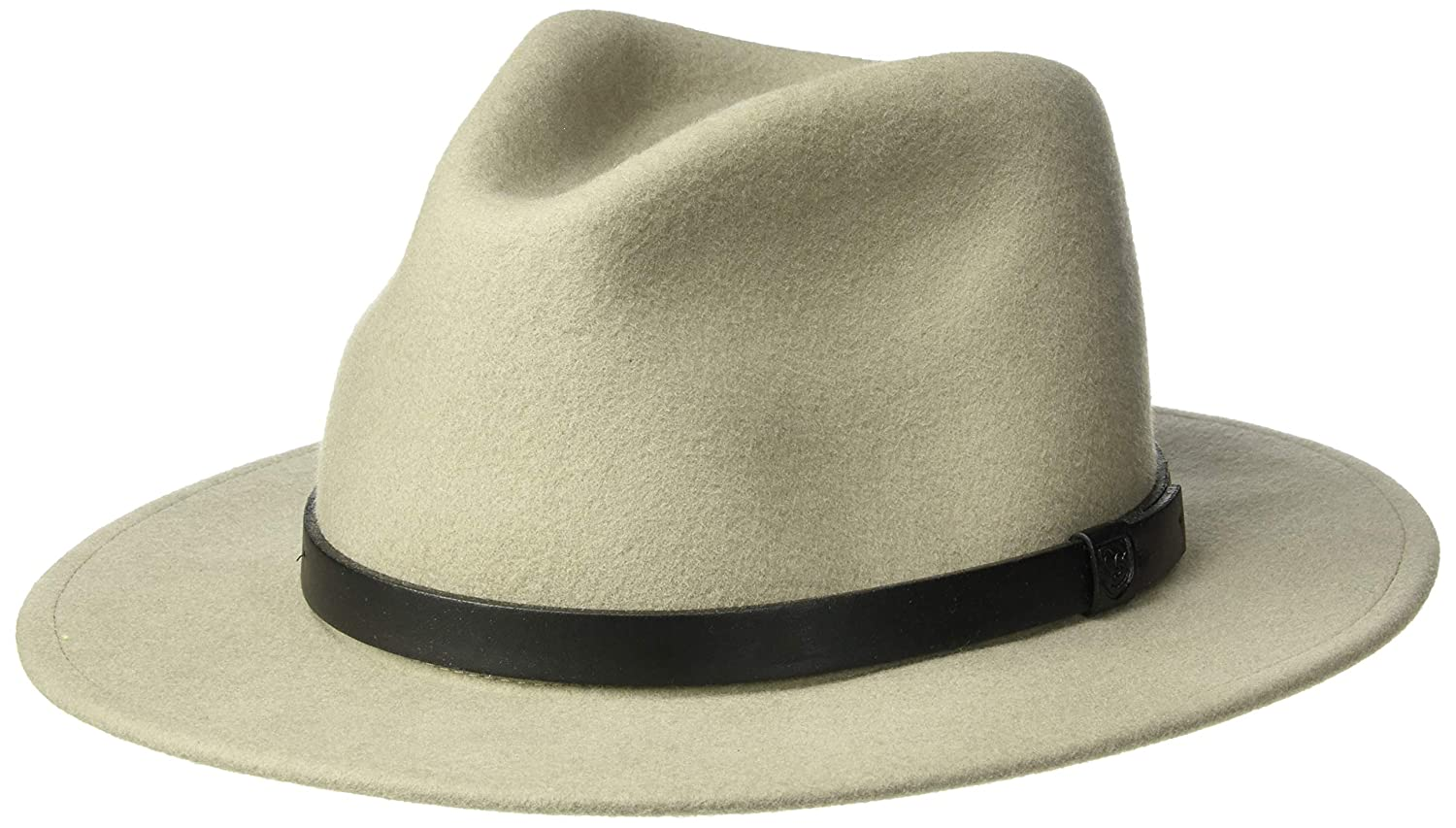 2cc7c5b2 Brixton Mens Messer Medium Brim Felt Fedora Hat Fedora: Amazon.ca: Clothing  & Accessories