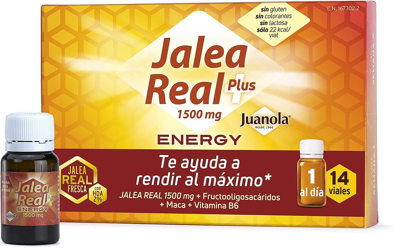JUANOLA Jalea Energy, Complemento alimenticio con jalea real fresca