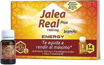Comprar JUANOLA Jalea Energy, Complemento alimenticio con jalea real fresca, 14 Viales