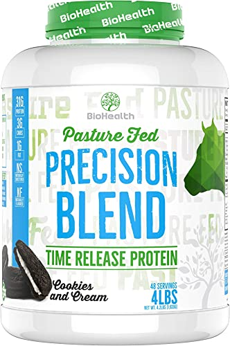 Precision Blend Cookies and Cream 4 lb Time Released Whey Protein Blend