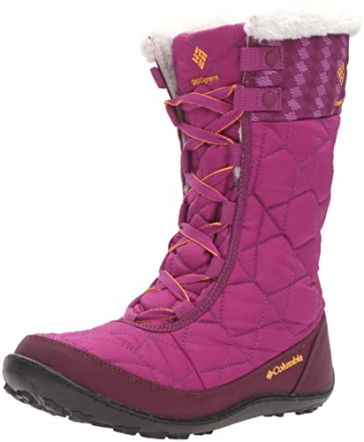 Columbia Girls' Youth Minx Mid II Waterproof Omni-Heat-K Snow Boot,