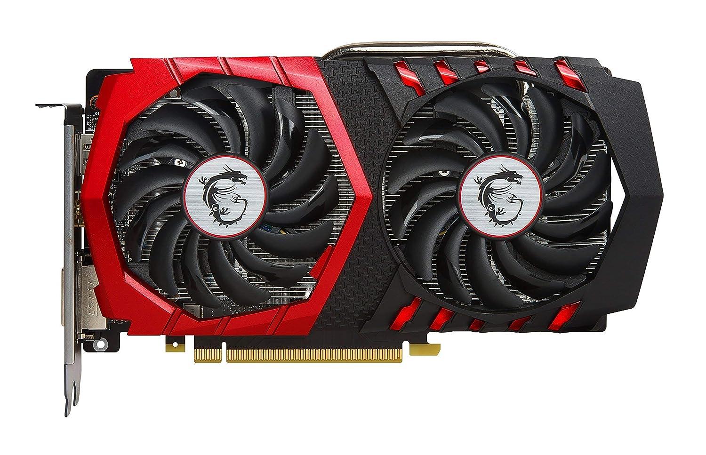 MSI Gaming GeForce GTX 1050 Ti 4GB GDRR5 128-bit HDCP Support DirectX 12 TORX 2.0 Fan Graphics Card GTX 1050 TI Gaming X 4G Renewed