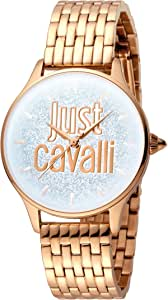 Just Cavalli Casual Watch for Women, Round, Analog, JC1L043M0045