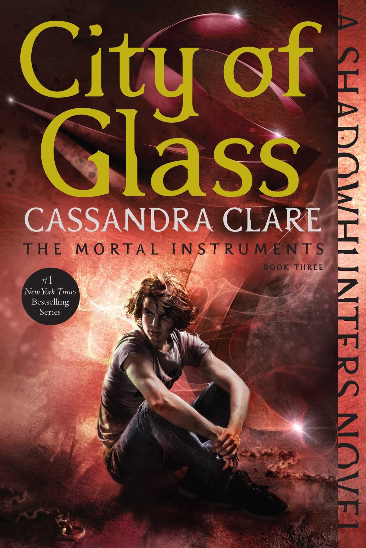 How To Make A Book Cover Look Old And Worn ~ Amazon.com: city of glass the mortal instruments 9781481455985
