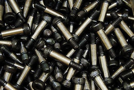 Coarse Thread Quantity: 100 pcs 5//16-18 Thread Size 3//8 inch x 5 inch 18-8 Stainless Steel Shoulder Diameter: 3//8 inch Shoulder Length: 5 inch Socket Head Shoulder Screw