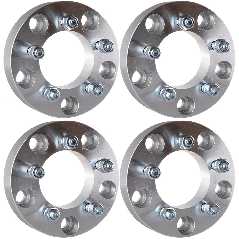 ECCPP Wheel Spacers Adapters 2PCS 5x5.5 to 5x4.5 1.5 inch 38mm thick 1/2' Studs For 2005-2010 Dodge Dakota Durango Ram 1500 BHBU0503A4677