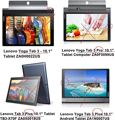Lenovo Yoga Tab 3 10 Screen Protector - RBEIK Premium Tempered Glass Screen Protector for Lenovo Yoga Tab 3 10.1 Inch Tablet with 9H Hardness ...