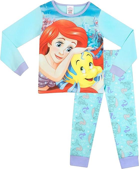 Disney La Sirenita - Pijama para niñas - Ariel - 7-8 Años: Amazon.es: Ropa y accesorios