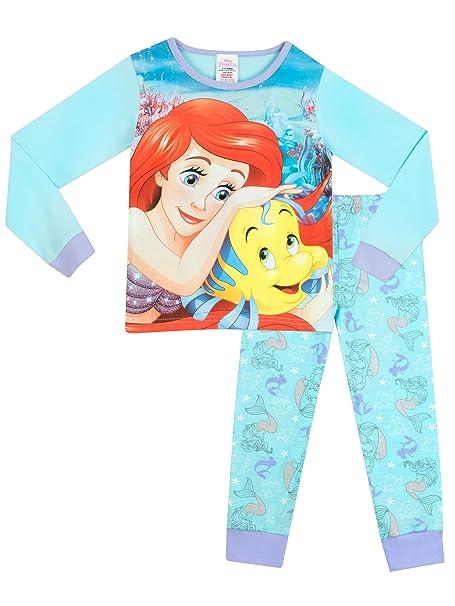 Disney La Sirenita - Pijama para niñas - Ariel - 2 - 3 Años