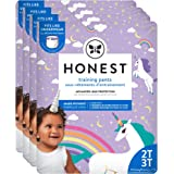 The Honest Company Toddler Training Pants | Unicorns | 2T/3T | 104 Count | Eco-Friendly | Underwear-Like Fit | Stretchy Waist