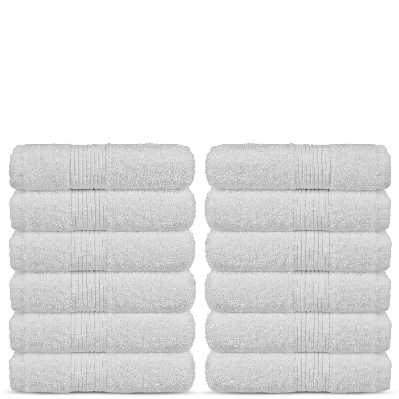 Amazoncom Soft Touch Linen Terry Cloth Towel Set, 2 Bath