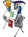 Cipla Plast Cloth Dryer Stand - Sumo + Free 14 Pcs Multipurpose Buffers - Brc-741