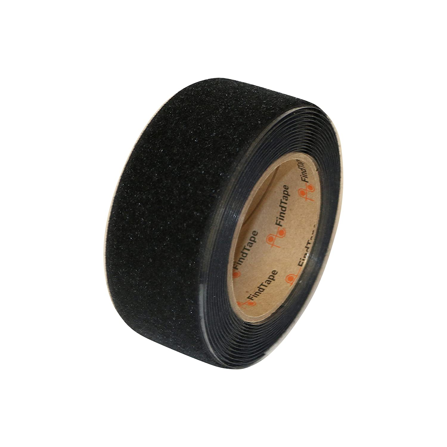 FindTape HL74-R Adhesive-Backed Loop-Side Only Roll: 2 in. x 15 ft. (Black) / Loop-Side only HL74-R/BLK215L