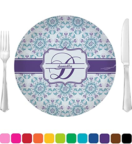 Mandala Floral Dinner Plate (Personalized)  sc 1 st  Amazon.com & Amazon.com | Mandala Floral Dinner Plate (Personalized): Dinner Plates