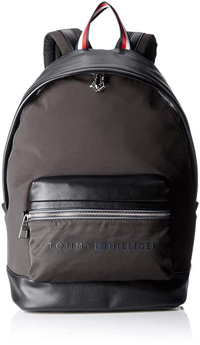 Tommy Hilfiger - Urban Novelty Backpack, Mochilas Hombre, Negro (Black), 19x45x32 cm (B x H T): Amazon.es: Zapatos y complementos