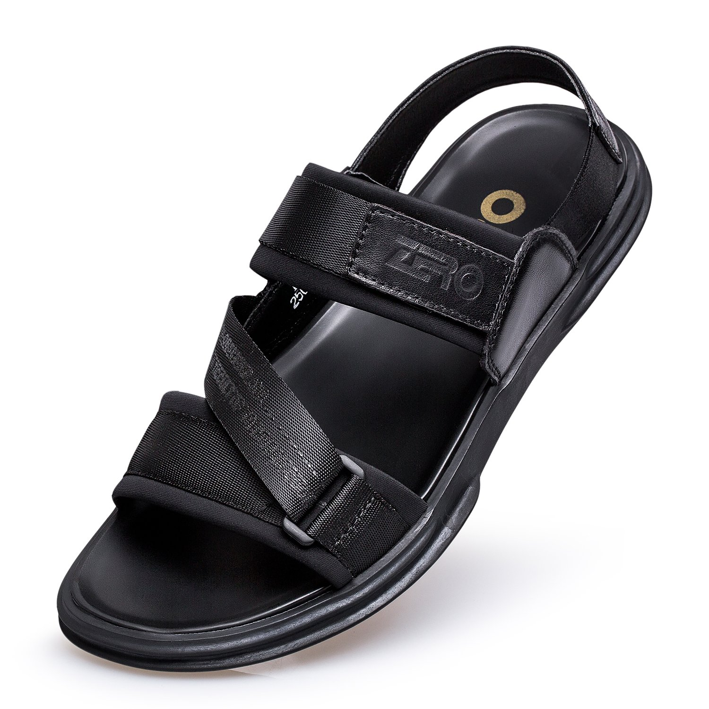 ZRO Men's Summer Beach Sandals Trend Outdoor Casual Shoes Black US 8