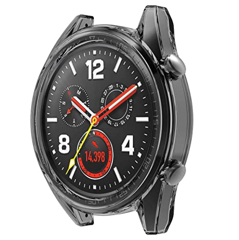SPGuard Coque de Protection Compatible Huawei Watch GT, Protection décran Huawei Watch GT