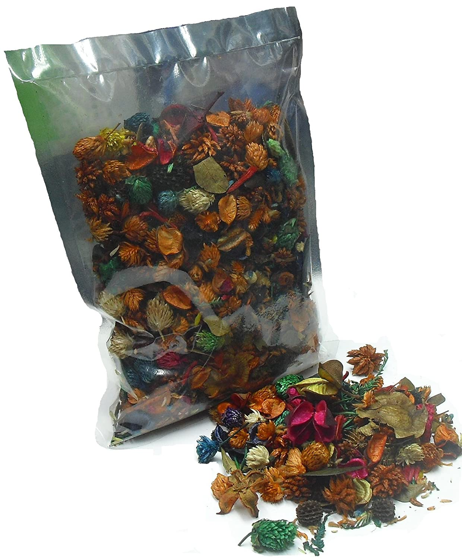 Thermovip. Pot-pourri profumati di fiori secchi Arancione. Sacchetto di economico formato 150 gr. Mercavip AMPOPNA