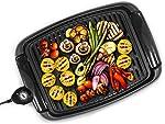 Elite Gourmet Maxi-Matic EGL-3450 Indoor Electric BBQ Grill Nonstick Surface Adjustable