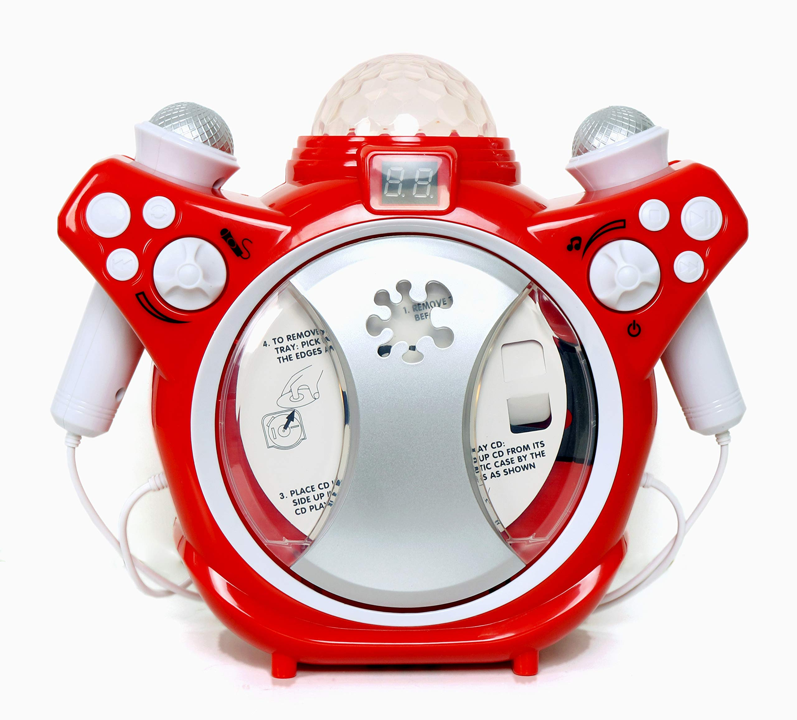 C.Z Kids Karaoke CD Player Listen or Sing Along to Your Favourite Songs by C.Z (Image #1)