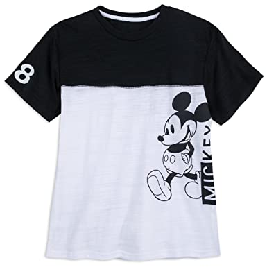 e478dad0 Amazon.com: Disney Mickey Mouse Sports Jersey T-Shirt for Men Size ...