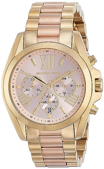 Michael Kors MK6359 Relojo con Extensible Acero Dorado para Mujer ... 8297b456b26a