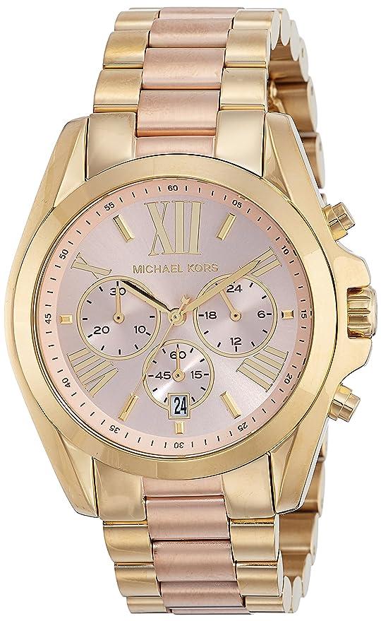 7e6bf8729256 Michael Kors Women s MK6359 - Bradshaw Two-Tone  Michael Kors  Amazon.ca   Watches