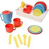 Playkidz: Super Durable 31 Piece Kids Play Dishes Playset Pretend Play House!