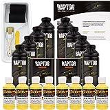 U-POL Raptor Safety Yellow Urethane Spray-On Truck Bed Liner Kit w/