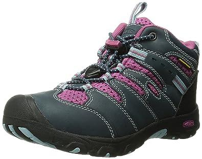 KEEN Koven Mid WP Hiking Boot (Toddler/Little Kid), Midnight Navy/
