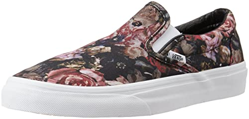 6b7b07a46e Image Unavailable. Image not available for. Colour  Vans Unisex Classic Slip -On Moody Floral