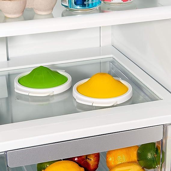 OXO Citrus Saver Set-Lemon Lime Good Grips Cut and Keep-Juego de ...