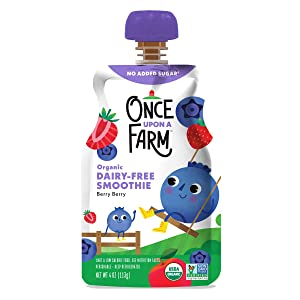 Once Upon a Farm, Organic Berry Berry Quite Contray, 4 Ounce